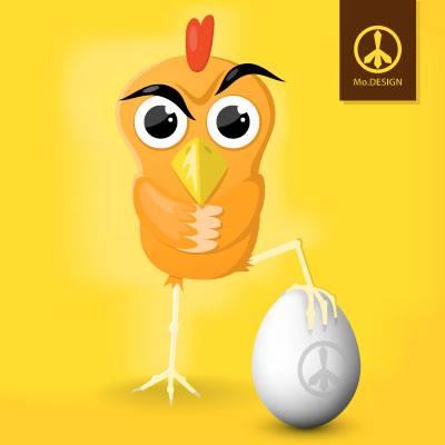 Drsný kuře