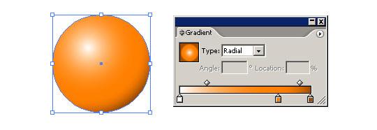 Koule a tvorba jejího vektorového stínu