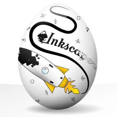 Inkscape vejce