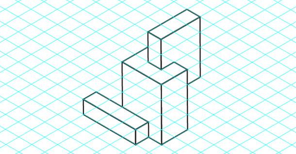 3D mřížka v Illustratoru