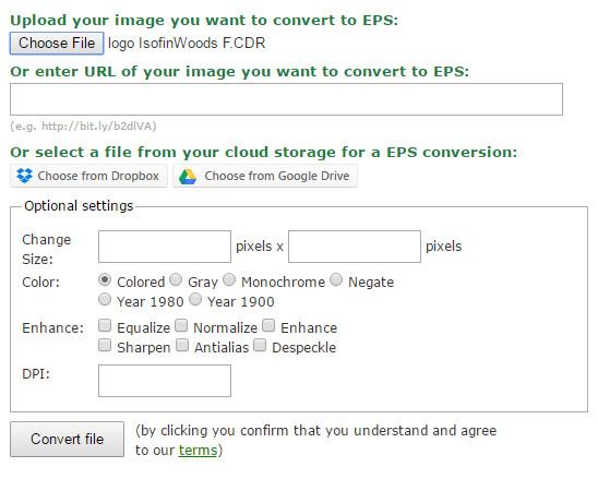 Online převod cdr na eps formát