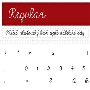 České fonty