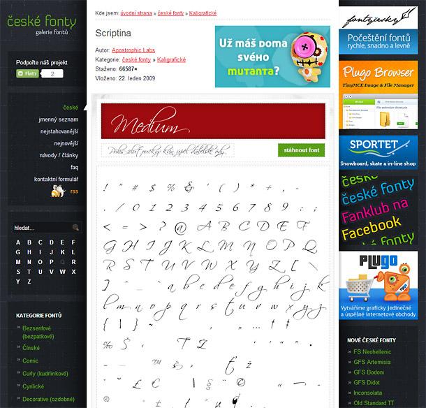 Výběr těch nejlepších českých fontů