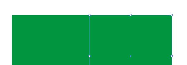 Zduplikovaný čtverec se stejnou barvou