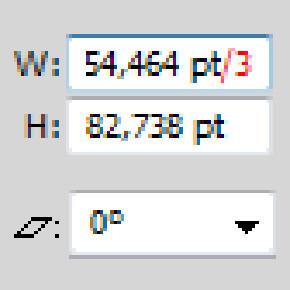 Zadávání čísel v Illustrátoru