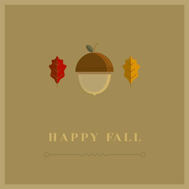 Minimalistické podzimní zátiší