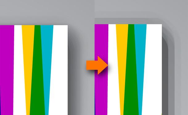 Rozhození ilustrace při změně velikosti
