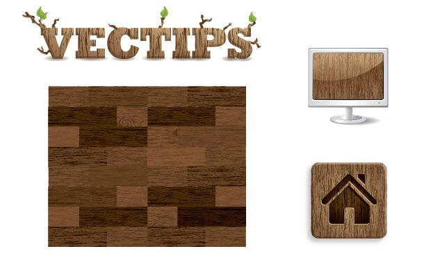 Textura zrnitého dřeva v Illustrátoru