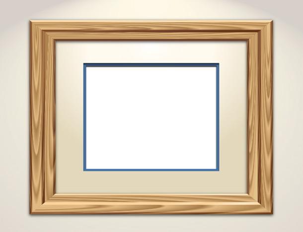 Návod na nakreslení dřevěného rámečku v Adobe Illustrátoru