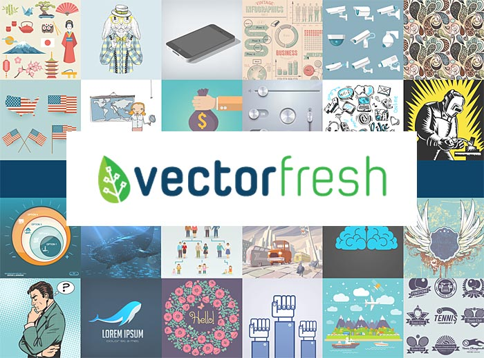 VectorFresh - nejlevnější fotobanka s vektorovými ilustracemi