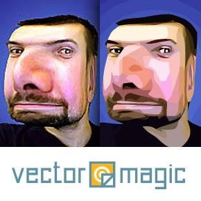 Vectormagic - online nástroj pro převod do křivek