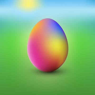 Duhové vejce