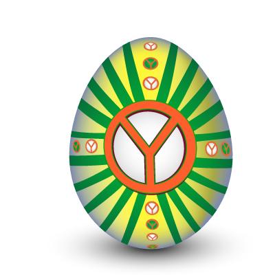 Klidné a radostné vejce