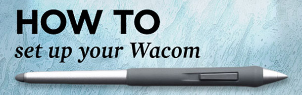 Tutoriály pro tablety Wacom