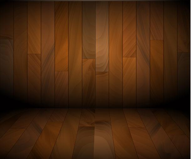 Ukázky použití dřevěné textury v mých vektorových ilustracích